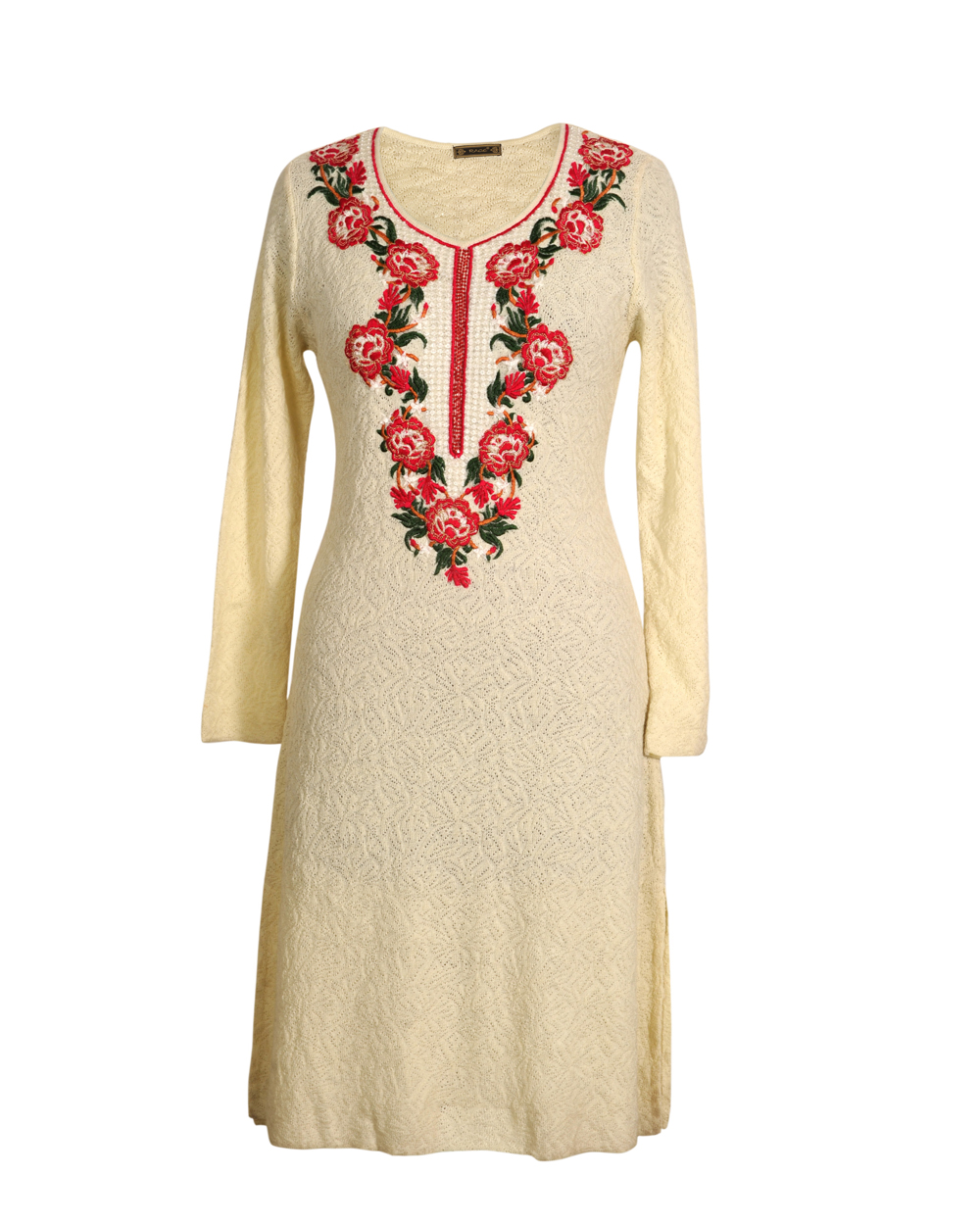 Kurtis with embroidery makaroka